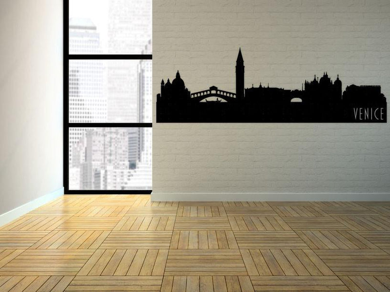 Venice Italy Skyline Vinyl Wall Decal