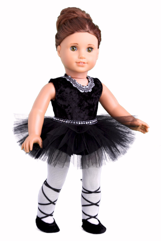 96d6cc7dd Black Swan - Doll Ballet Outfit for American Girl Doll - Leotard ...