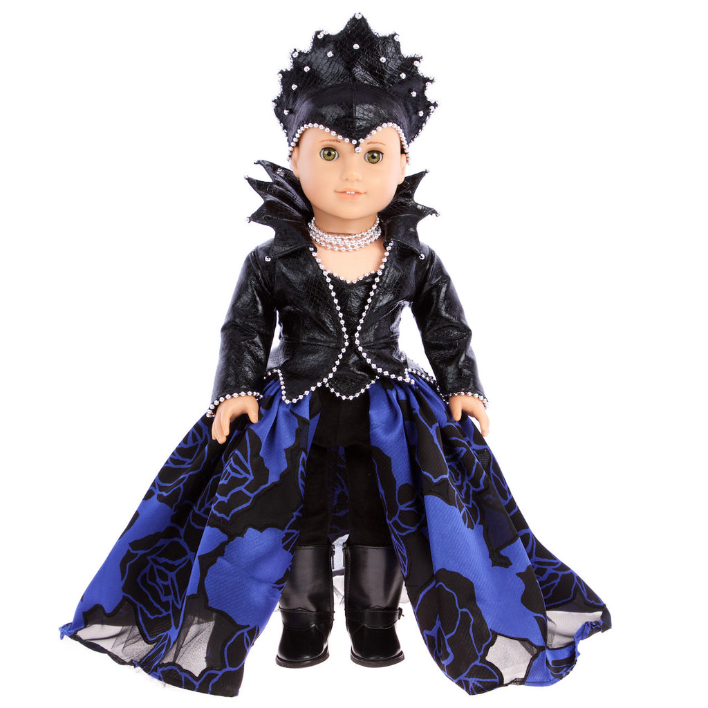 once upon a time evil queen doll clothes for 18 inch american girl doll