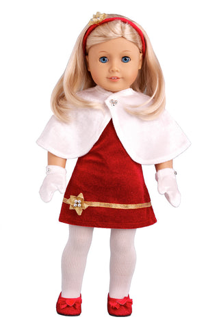 Holiday Spirit - Clothes for 18 inch American Girl Doll - Party ...
