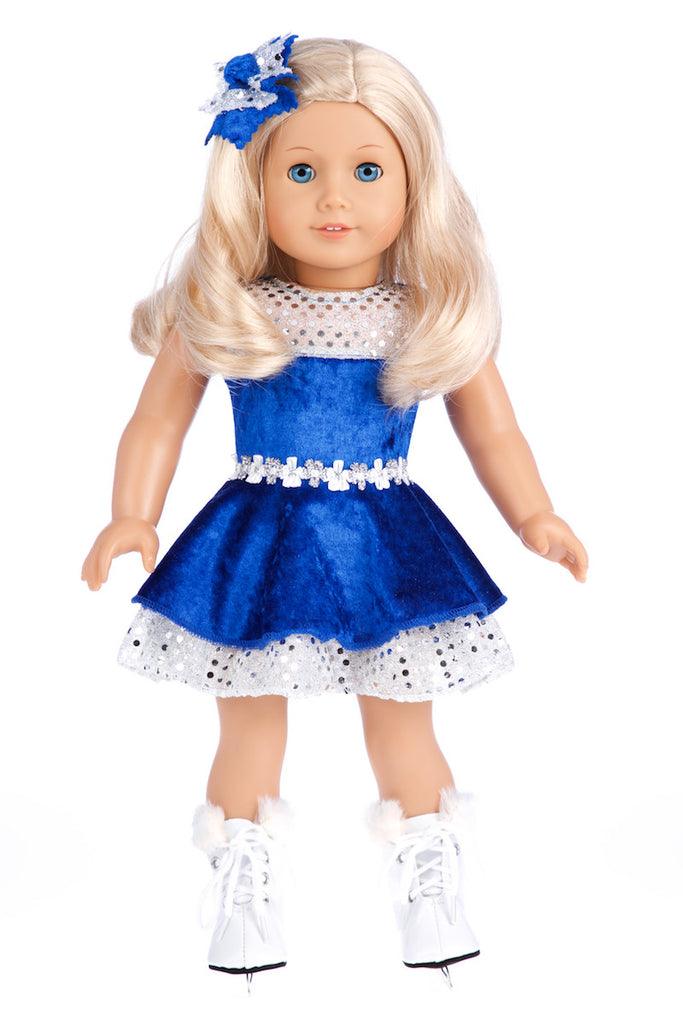 286fa649cc38 Ice Dancer - Clothes for 18 inch American Girl Doll - Leotard