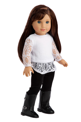 Christmas Classic Clothes For 18 Inch American Girl Doll Holiday