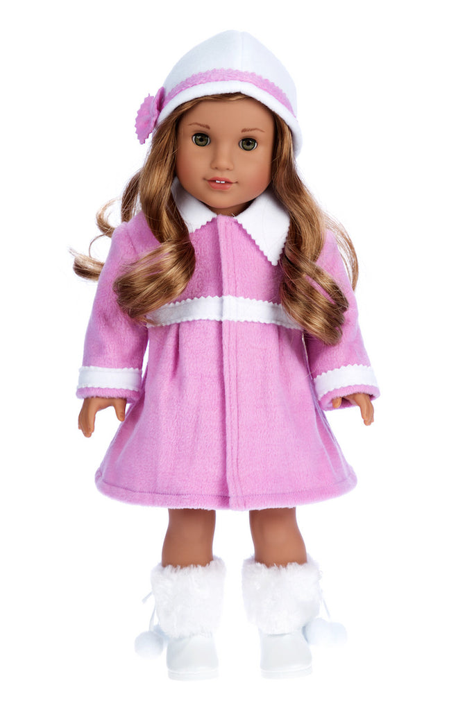 Coat and hat for 18 inch dolls