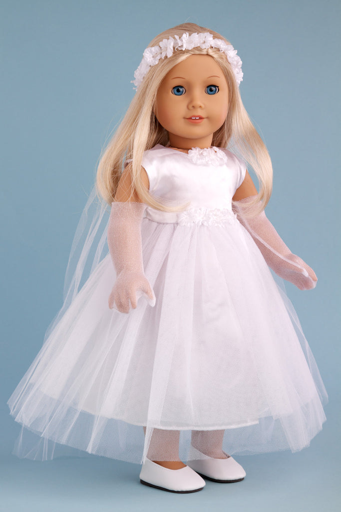 Little Angel - Clothes for 18 inch American Girl Doll - Communion ...
