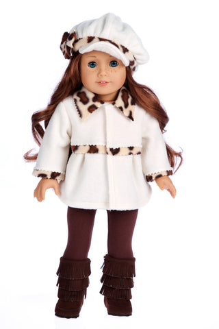 353e956b7 Marshmallow - 18 inch Doll Clothes - 4 Piece Doll Outfit - Coat, Hat,  Leggings and Boots. $ 28.97. Black Swan - Ballerina ...