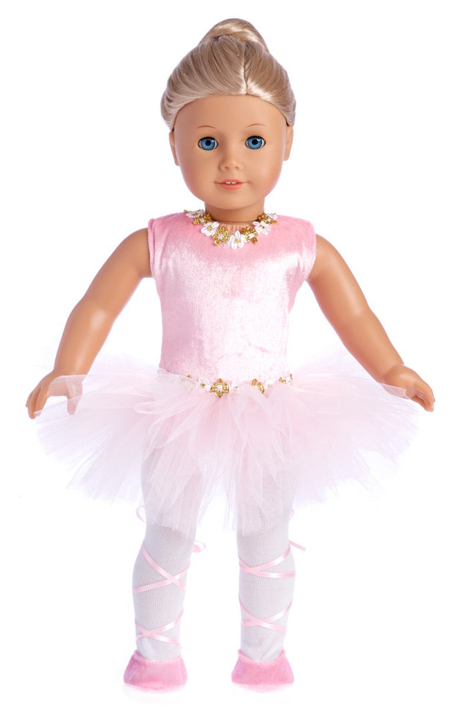 9a54214f2 Prima Ballerina - Ballet Clothes for 18 inch American Girl Doll ...