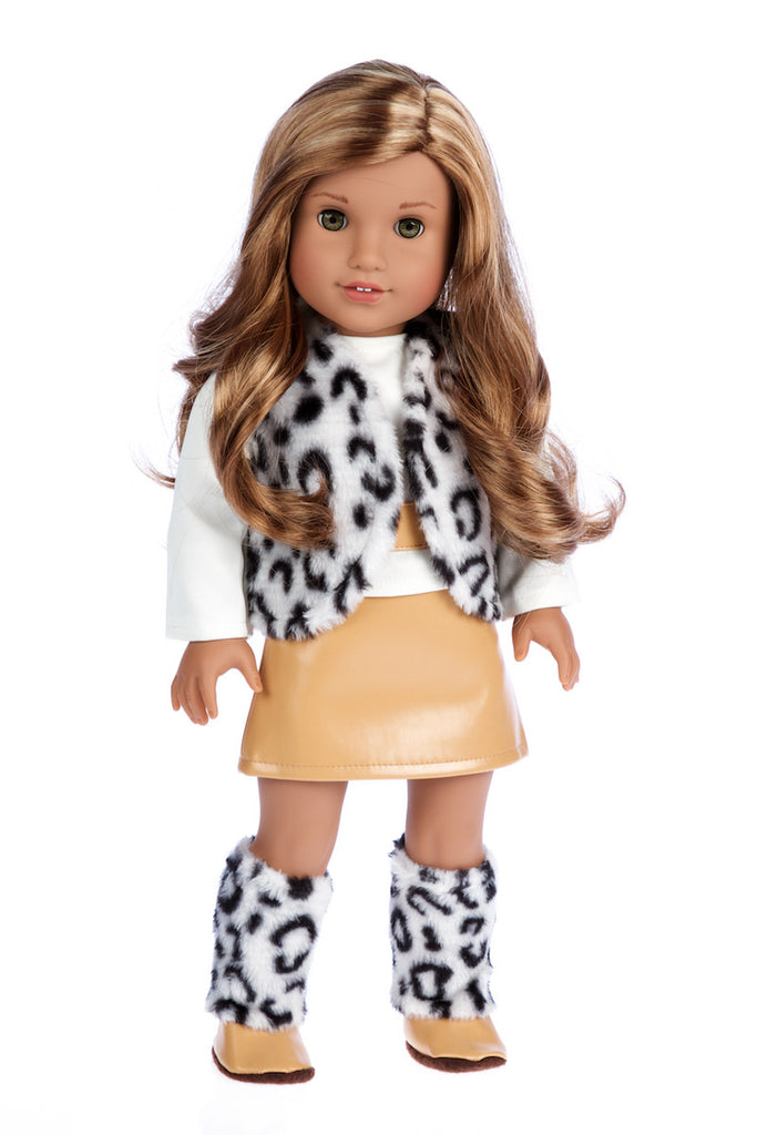 Snow Leopard Doll Clothes