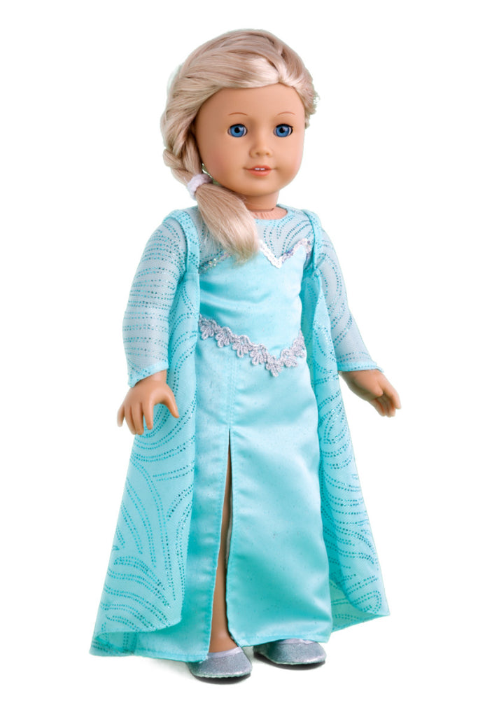 Snow Queen Elsa Doll Clothes