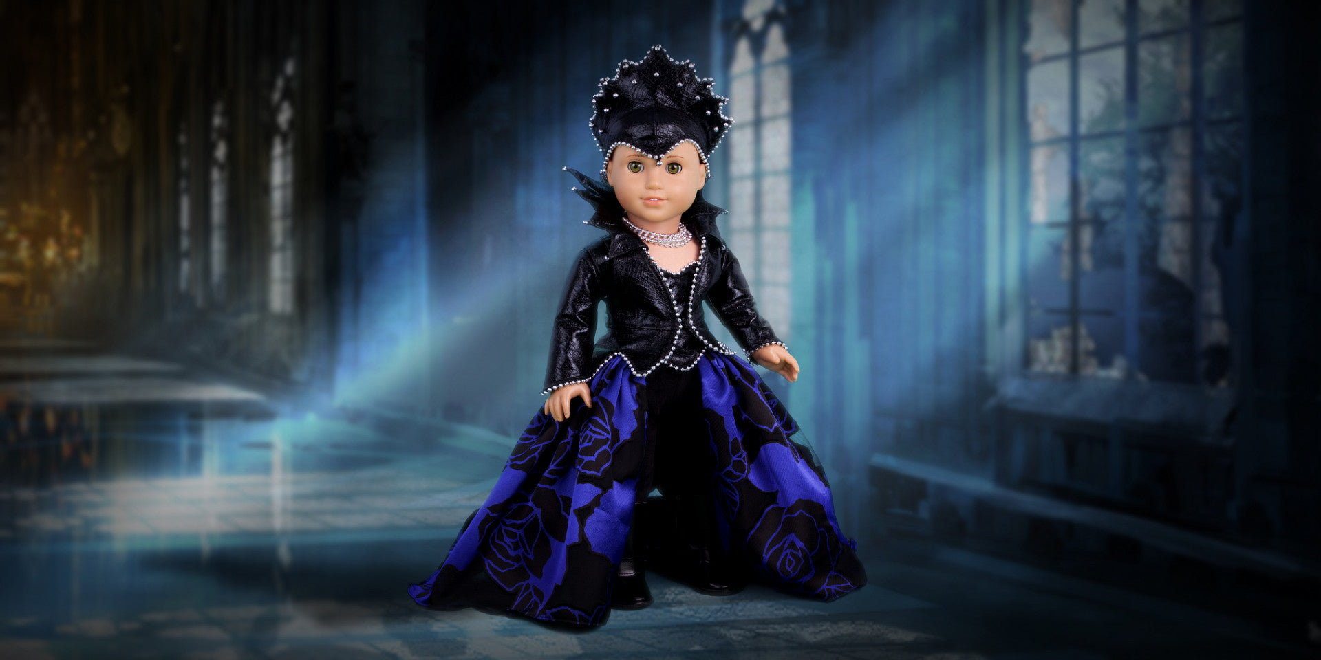 Evil Queen - Doll Clothes - Horseback Riding Doll Outfit