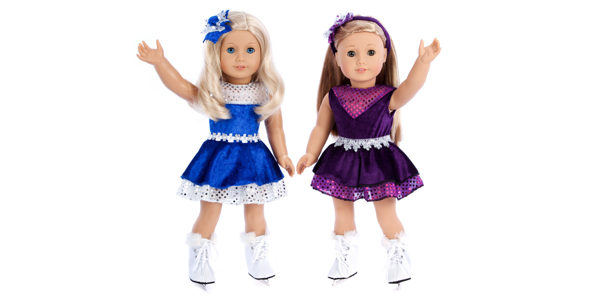 Ice Skating Queen - Doll Clothes for American Girl