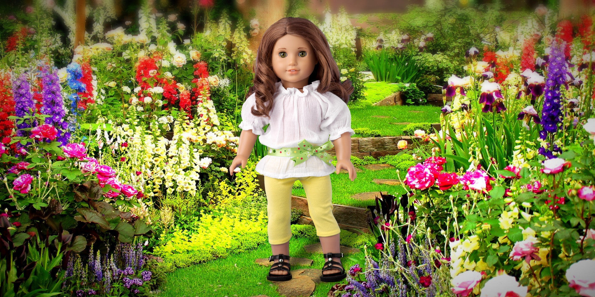 Sunny Day - Doll Clothes for American Girl Doll