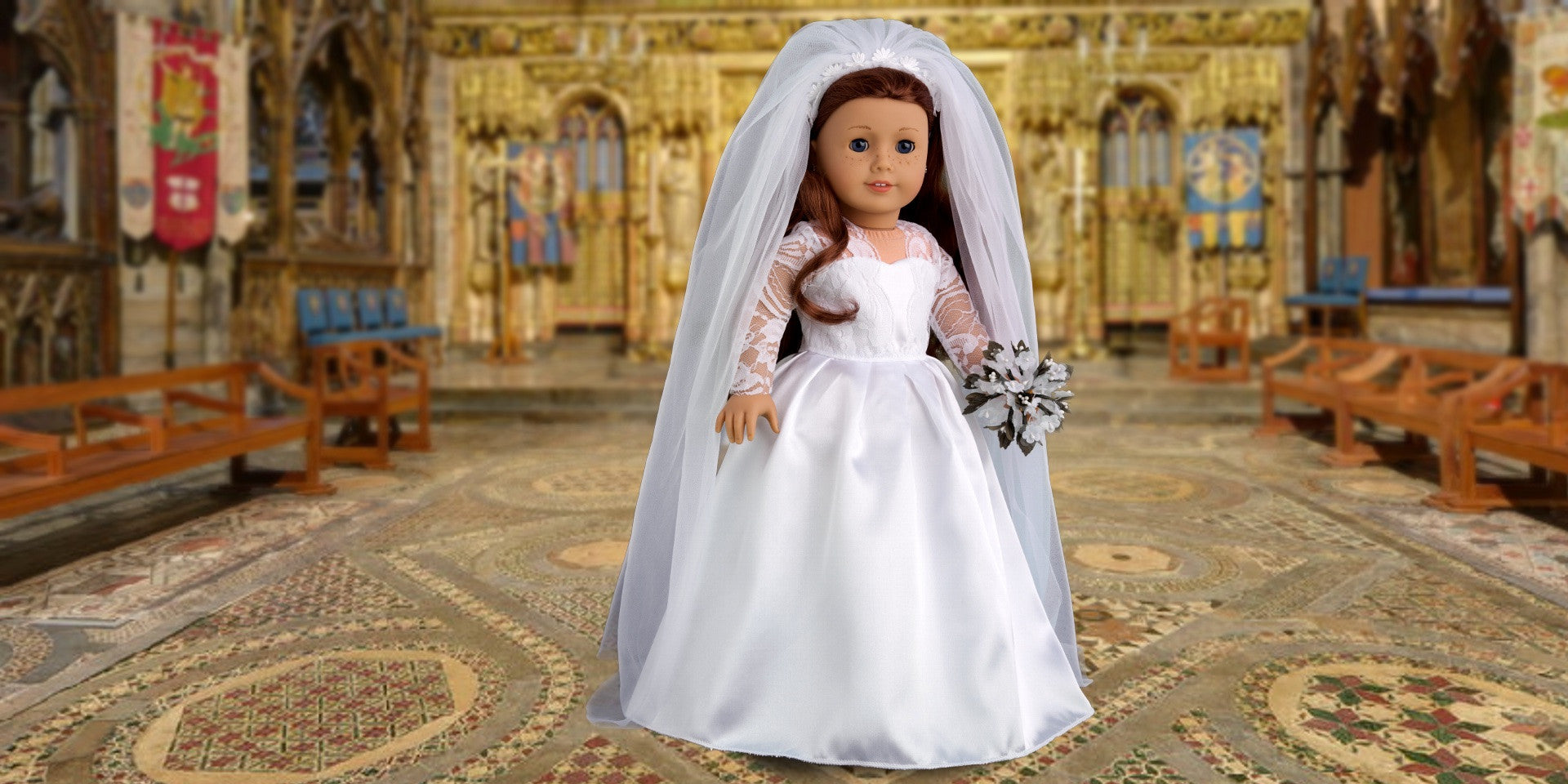 Princess Kate - Doll Clothes for American Girl