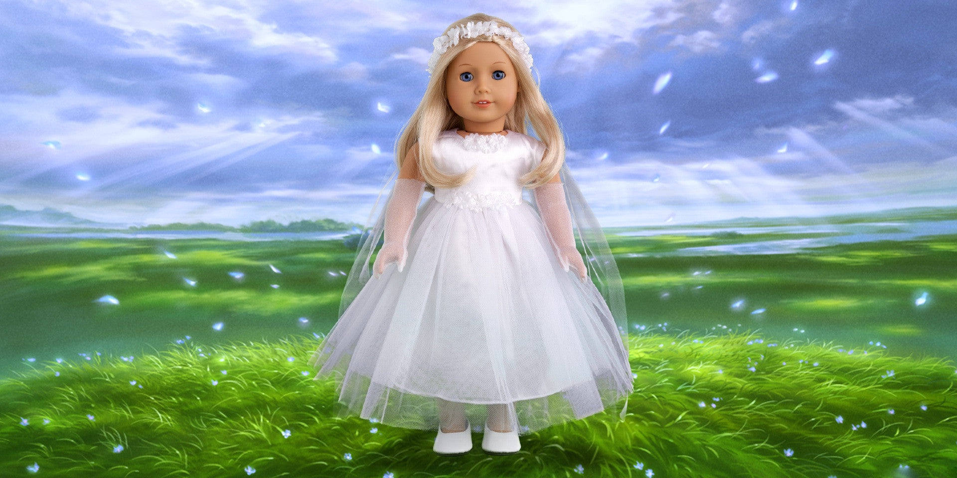 Little Angel - 18 inch Doll Clothes for American Girl