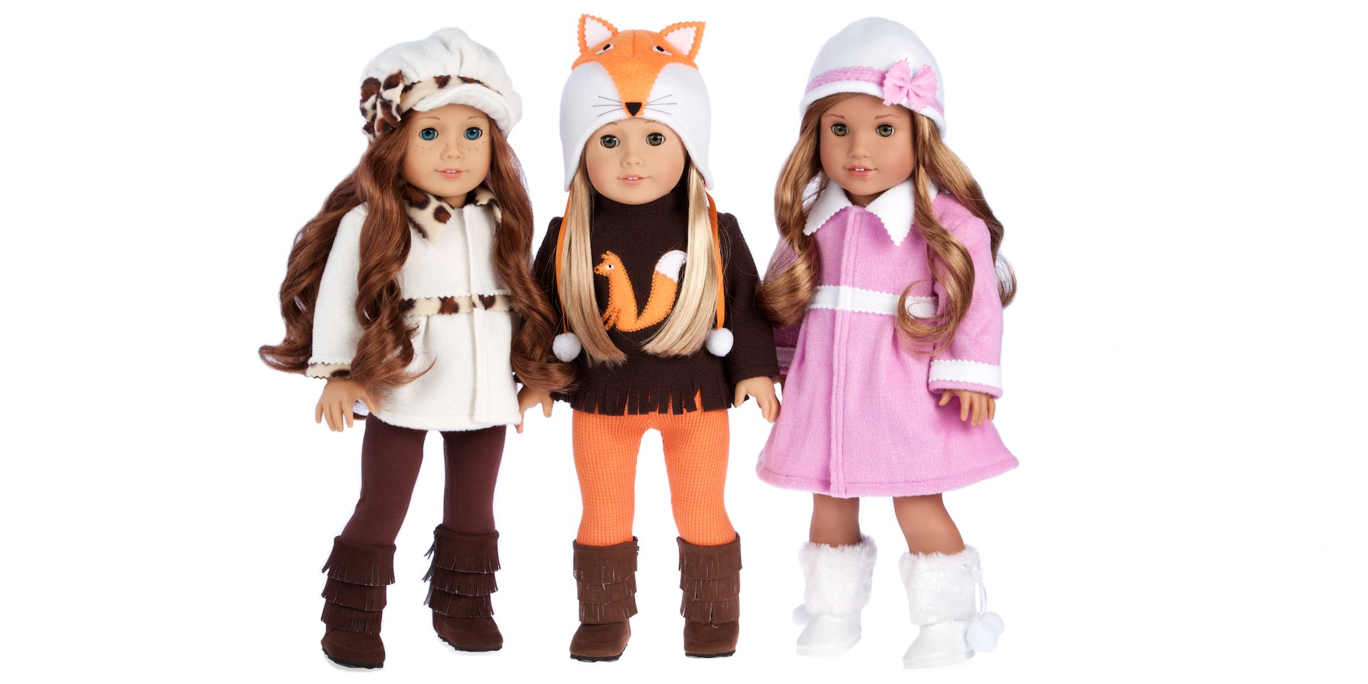 Winter Doll Clothes - Doll Outfits