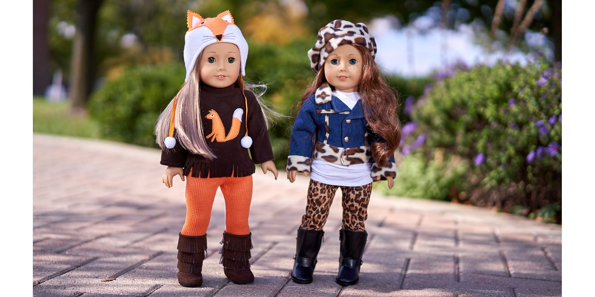 Foxy and Trendy Jewel - Doll Clothes for American Girl Doll