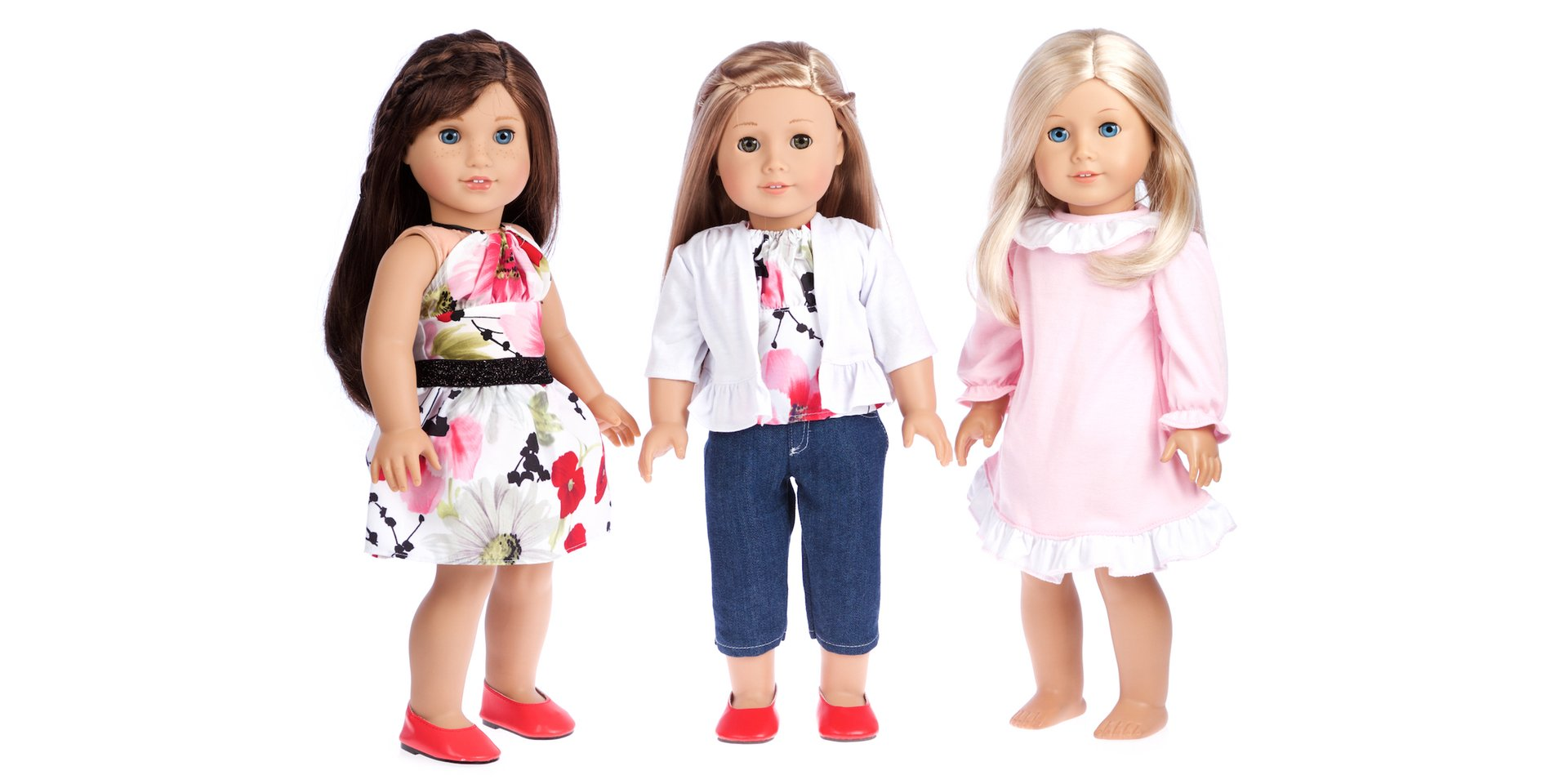 Dressy Doll Playset - Doll Clothes
