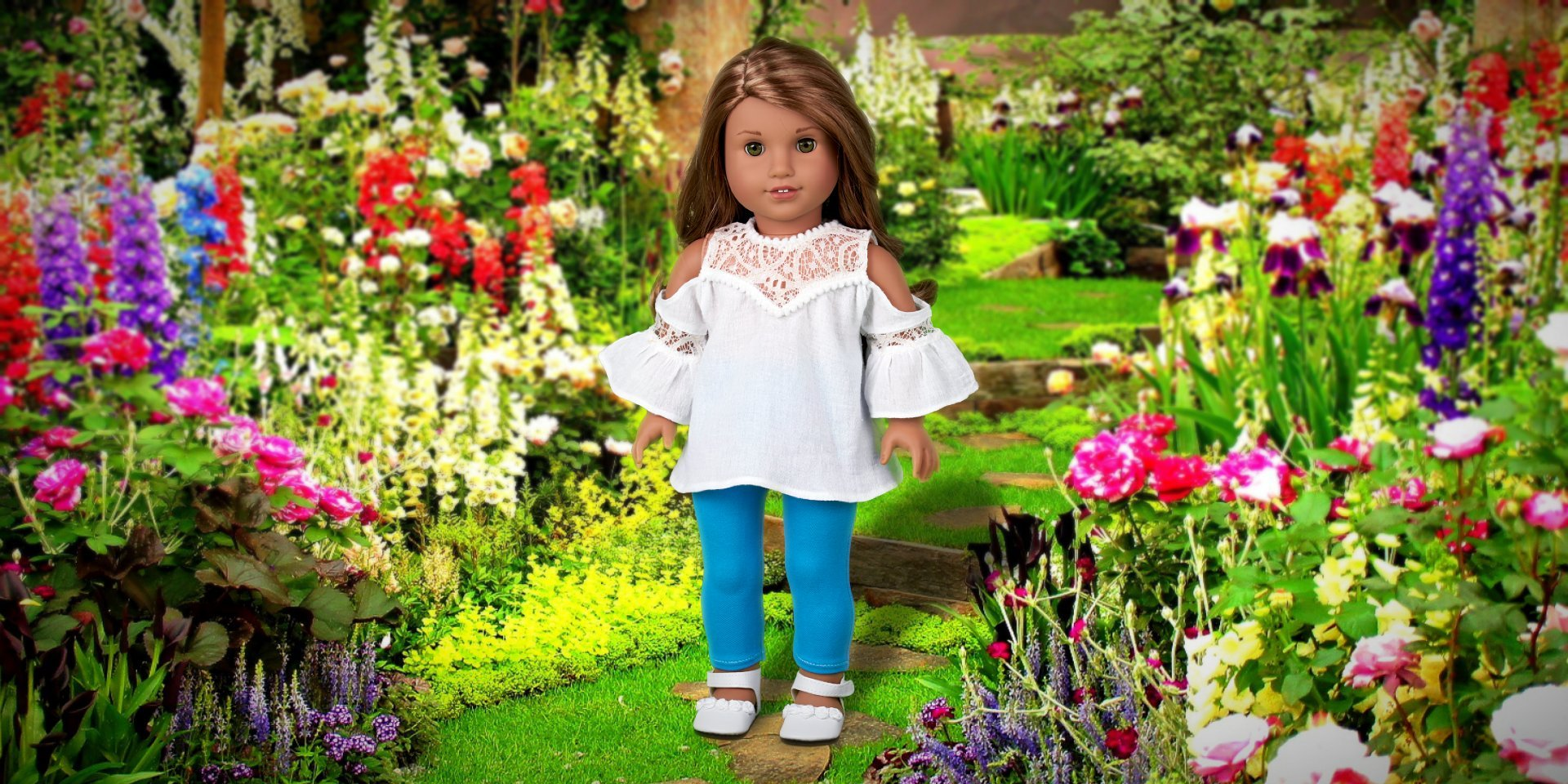 Trendy Jewel - Doll Clothes for American Girl Doll