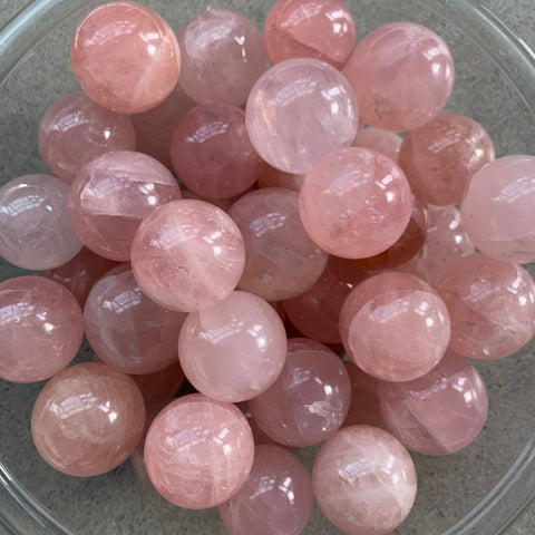 Rose Quartz Sphere - Small