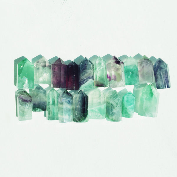 Fluorite Points - Extra Small