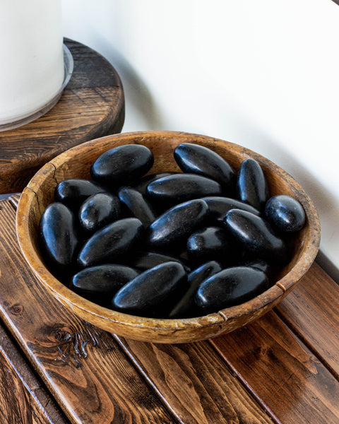 Black Shiva Lingams