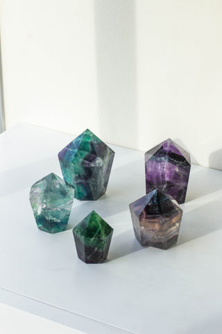 Fluorite Fat Shorty Points