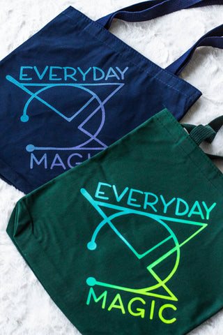 Everyday Magic Logo Tote Bag
