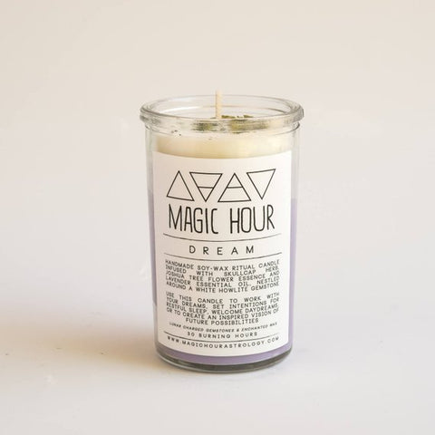 Dream Ritual Candle