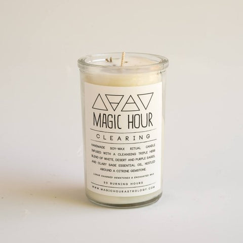 Clearing Ritual Candle