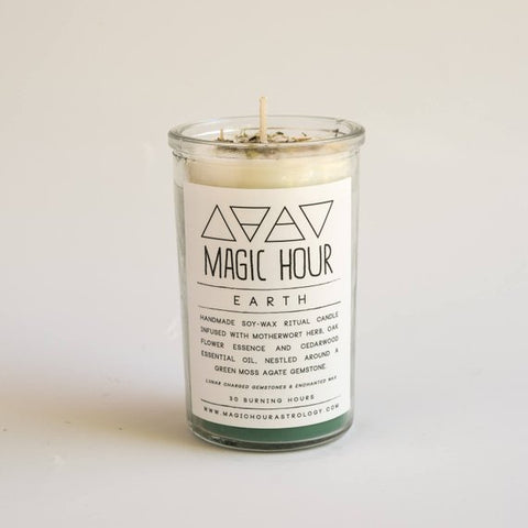 Earth Ritual Candle