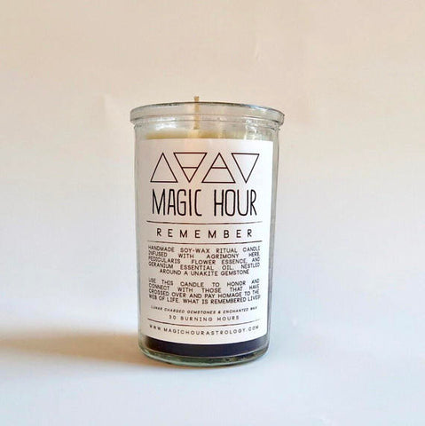 Remember Ritual Candle
