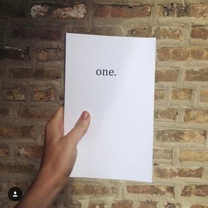 one. - poems by Sydney Boyle