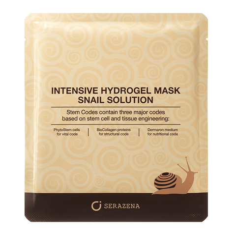 Intensive Hydrogel Mask Snail Solution - SERAZENA by Jungbrunnen - Fountain of Youth GmbH