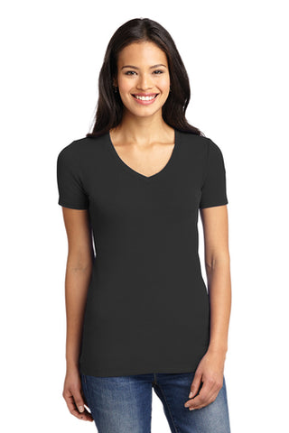 LM1005 - Port Authority® Ladies Concept Stretch V-Neck Tee