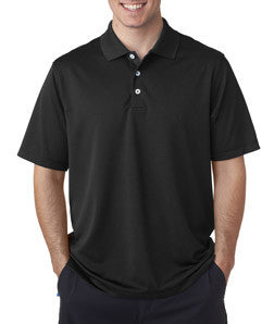 A170 - Adidas Men's ClimaLite® Textured Solid Polo