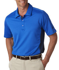 A128 - Adidas Men's Pure Motion Color Block 3-Stripes Polo