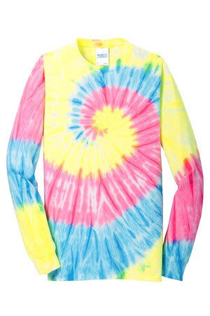PC147LS Tie-Dye Long Sleeve Shirt