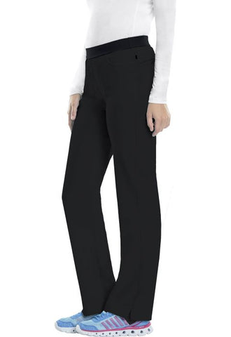1124AP - (PETITE) LOW RISE SLIM PULL-ON PANT