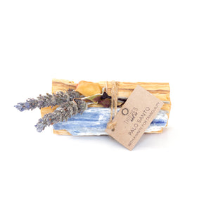 Palo Santo with Kyanite