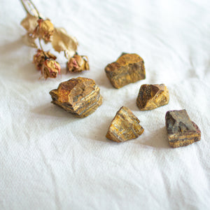 Tigers Eye Raw