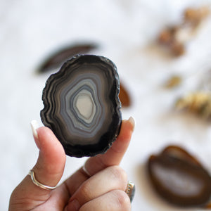 Agate Slice Small-Med Natural