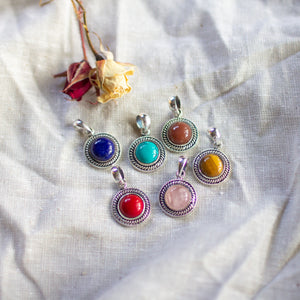 Radiant Crystal Pendants S/S