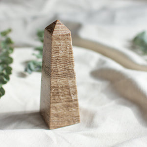 Feather Smudging Wand - Medium