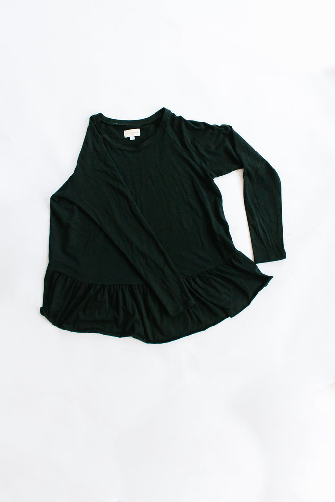 Mommy & Mini - Mommy Peplum Top RESTOCK