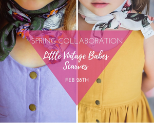 Little Vintage Babes Scarves
