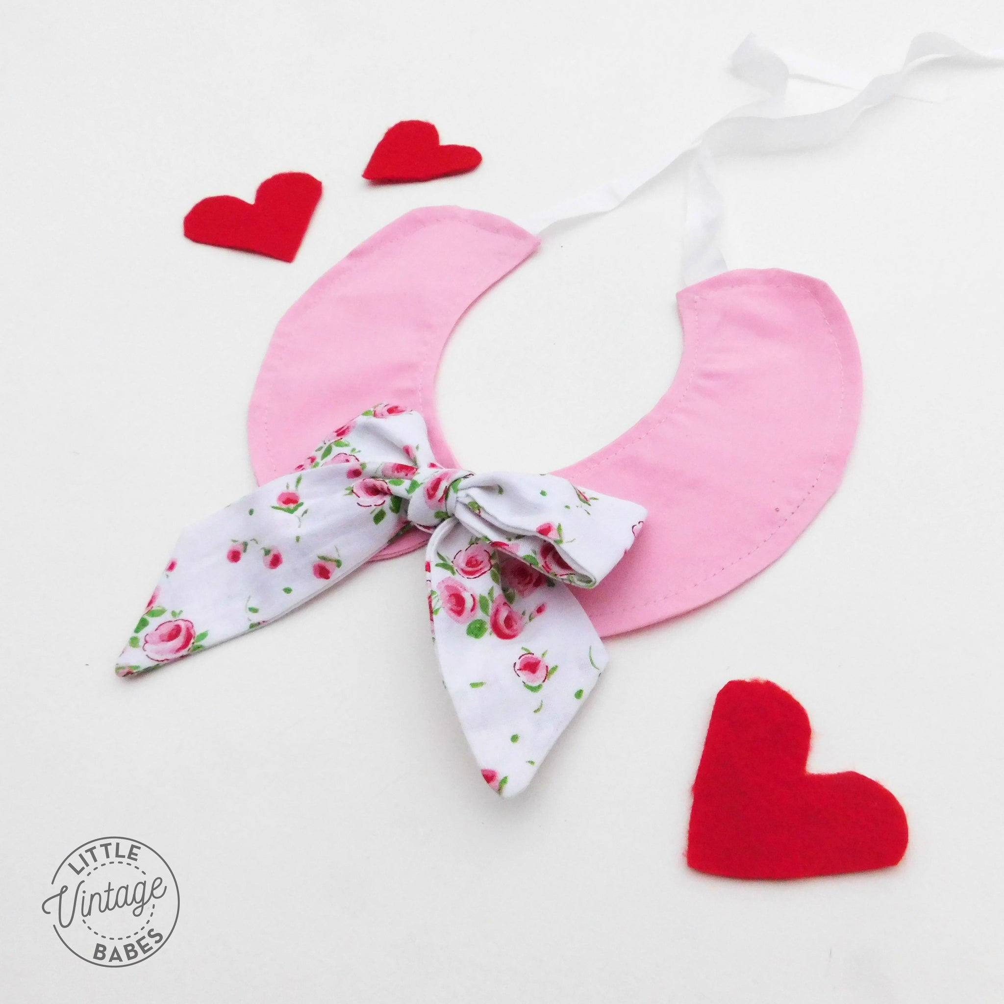 Rose Garden Bow Collar