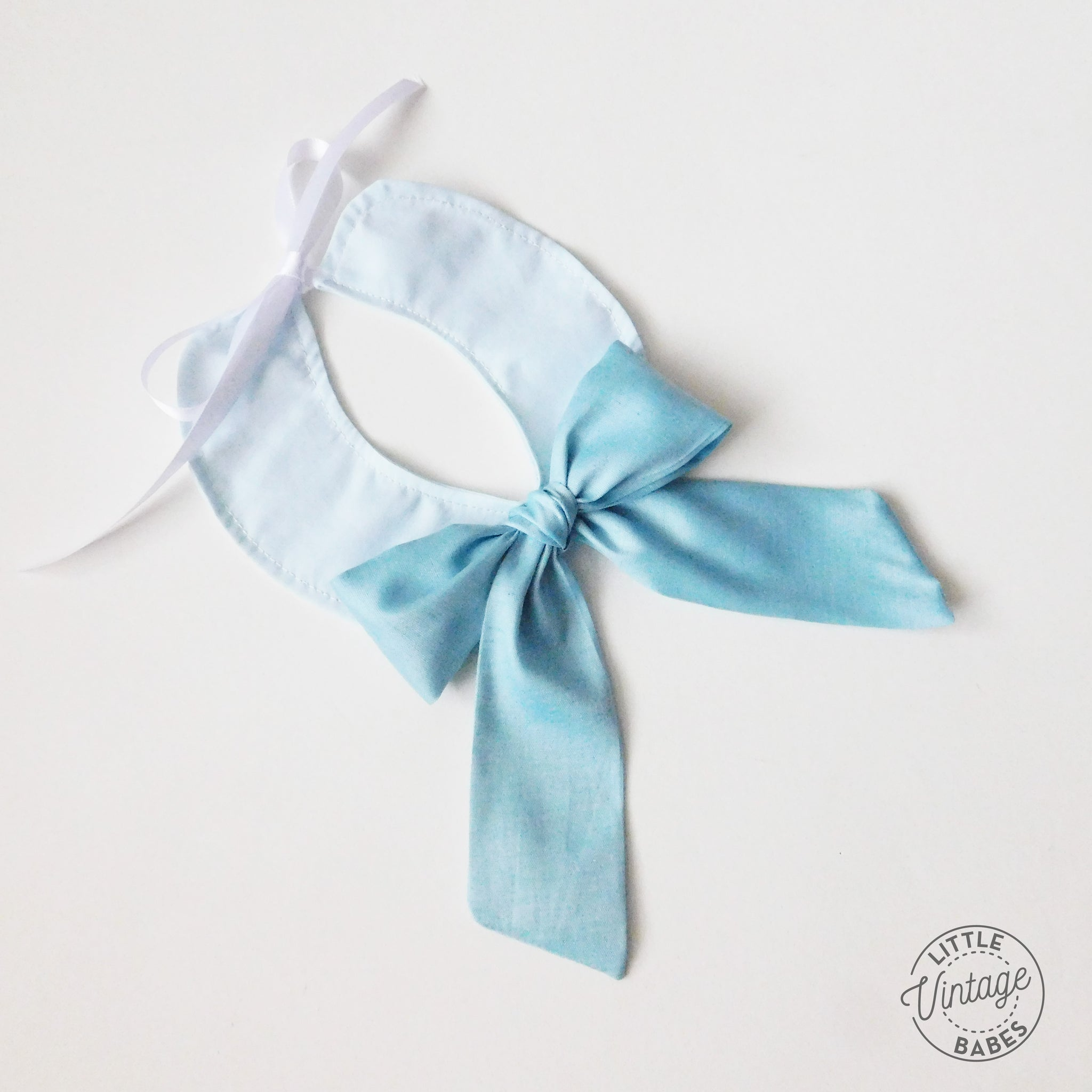 Forget Me Not Bow Collar