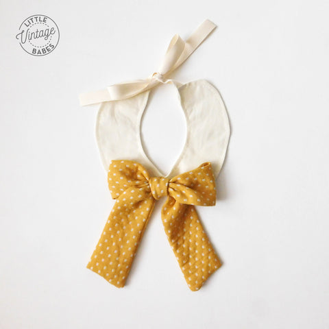 Sunflower Bow Collar