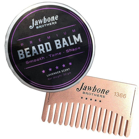 Health And Beauty - Chill-Zone Lavender Men's Beard Balm + Exclusive Beard Membership Comb