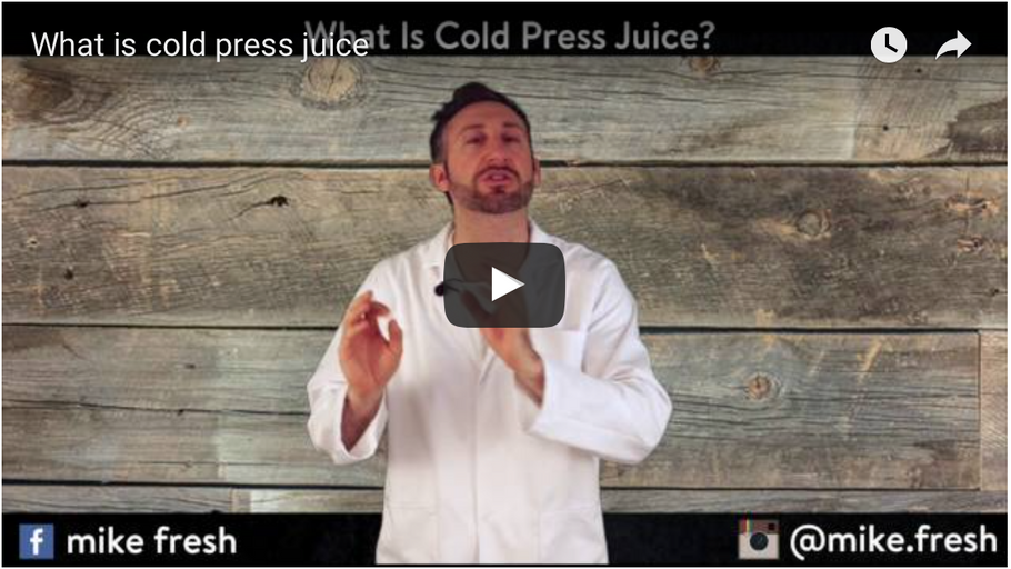 What Is Cold Press Juice