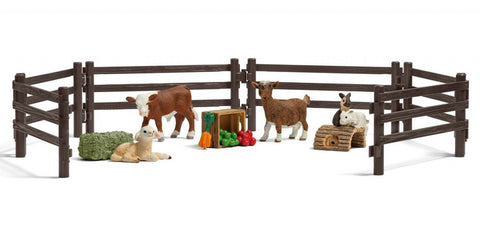 Children's Zoo Playset by Schleich - Little Me Little You